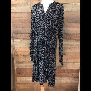 Michael Kors Core of Kors Animal Print Dress 2X